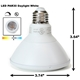 PAR30 LED Light Bulb 13W 3000K Warm White - White Finish  PAR30 LED Bulb, LED Bulbs, Light Bulbs, PAR30, PAR, LED,  Warm White, 3000K, LB-3001-WH-3K