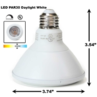 PAR30 LED Light Bulb 13W 6500K Daylight White