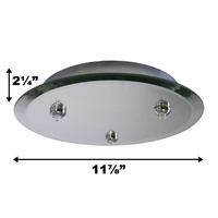 QMP-G3RN-MR WAC Lighting, Quick Connect Pendants Mounting Hardware, QMP-G3RN-MR