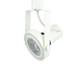 Read Loading Gimbal Ring Track Head LED PAR30 in White 3K