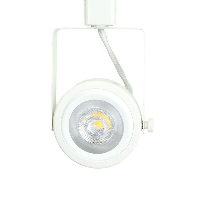 Rear loading gimbal ring led track lighting fixture black finish read loading gimbal ring led track lighting track head par30 in white 3k aloadofball Image collections