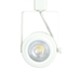 Read Loading Gimbal Ring LED Track Lighting Track Head PAR30 in White 3K