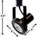 Rear Loading Gimbal Ring LED Track Lighting Kit 50005-3KIT-3K-BK - 50005-3KIT-3K-BK-50090