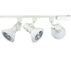 PAR38 LED 18W 3K Cool White Track Lighting Kit 50047-L38-4K-WH