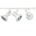 Universal Led Track Lighting Kit White Finish Par38 18w 4k