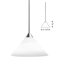 TLP310 Juno Pendant Shade Juno Lighting, Juno Pendant Lighting, Juno Decorative Pendants, Decorative Pendant Short Cone Glass Shade, TLP310