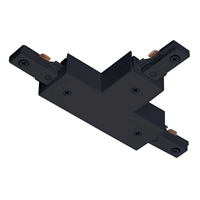 "Juno Trac-Master ""T"" Connector, 1-Circuit, Black T25"