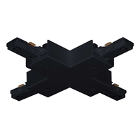 "Juno Trac-Master ""X"" Connector, 1-Circuit, Black T26"