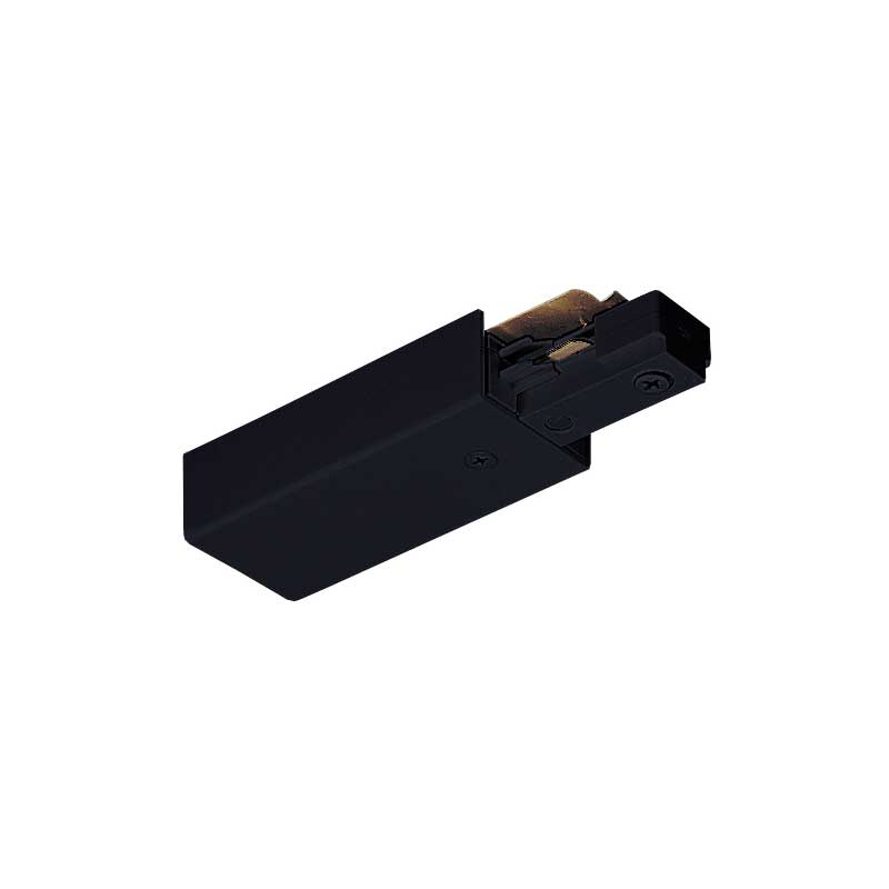 Juno Trac-Master End Feed Connector, 2-Circuit, TU 38 Black