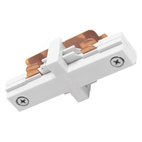 Trac-Master Two Circuit Miniature Straight Connector Juno Lighting, Trac-Master Miniature Straight Connector, Track Lighting Track, Track Lighting, Juno Lighting Parts, TU23