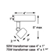 Low Voltage Track Lighting Kit