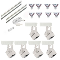 Trade Show Lighting 6-Light MR16 Track Lighting Kit HT-50012-6-KIT