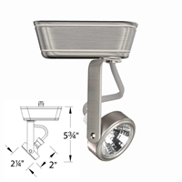 WAC Lighting 180 Gimbal Ring Low Voltage Track Lighting