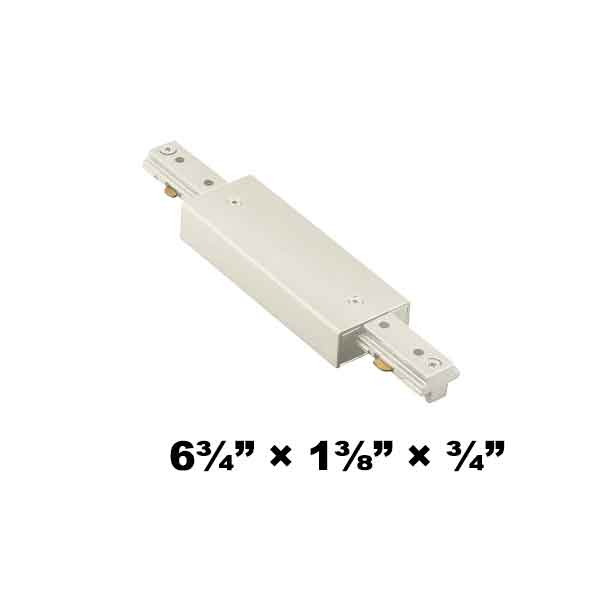 WAC Lighting H Series Single Circuit I Straight Line Power Connector HI-PWR