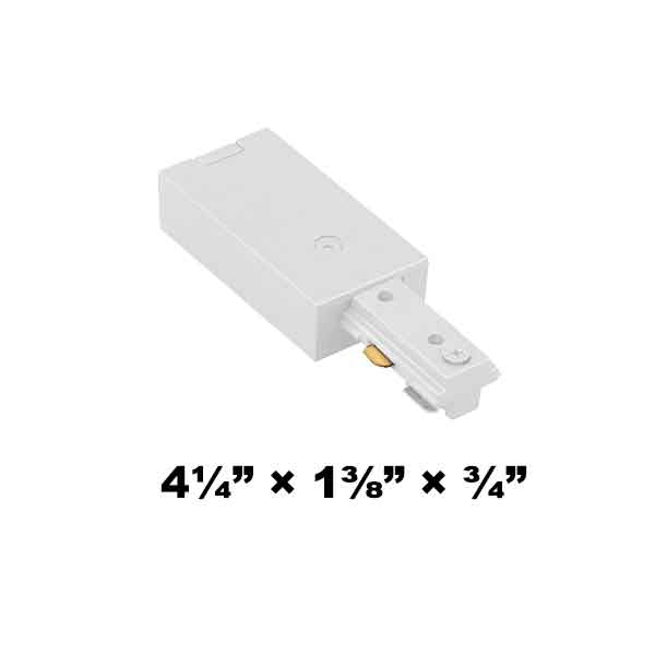 WAC Lighting H Series Single Circuit Live End Connector HLE