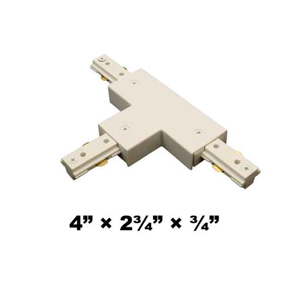 WAC Lighting H Series Single Circuit T Connector HT