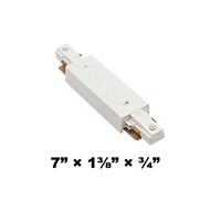WAC Lighting J2 Series Two Circuit I Straight Line Power Connector J2-IPWR