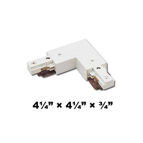 WAC Lighting J2 Series Two Circuit L Connector Left J2-LLEFT
