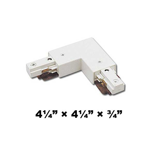 WAC Lighting J2 Series Two Circuit L Connector Right J2-LRIGHT