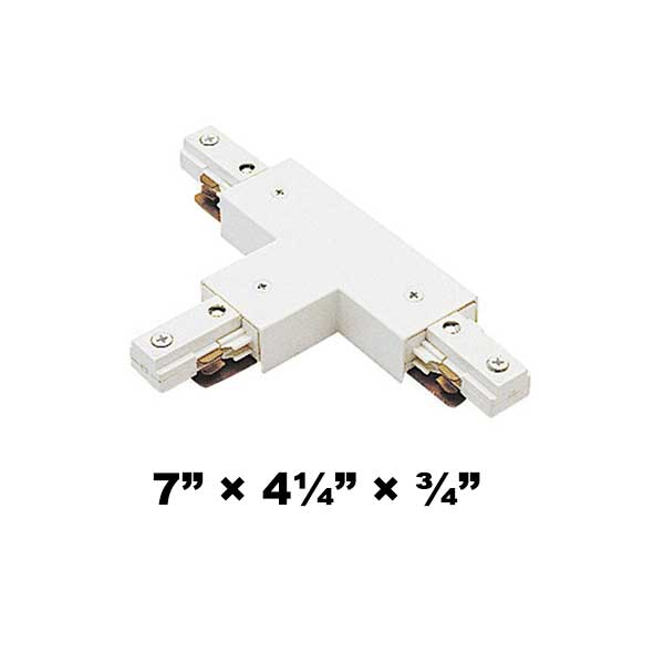 WAC Lighting J2 Series Two Circuit T Connector J2-T