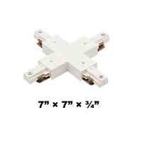 WAC Lighting J2 Series Two Circuit X Connector J2-X