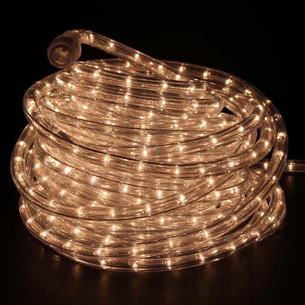 warm white incandescent rope lights 48ft 120v rlwl x 48 ww direct
