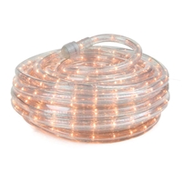120 Volt Warm White Incandescent Rope Light 48 Feet