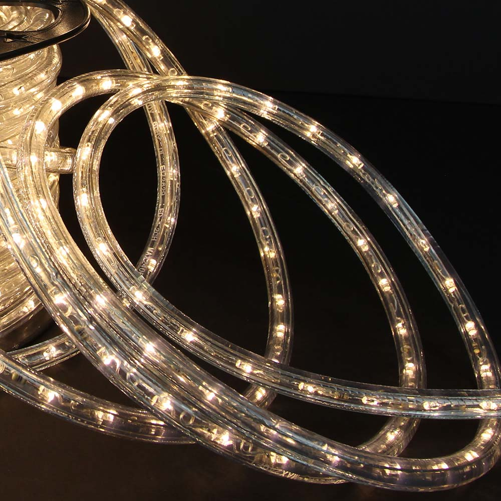 Warm white led rope lights 148ft rlwl 148 ww direct lighting 148 warm white led rope light close mozeypictures
