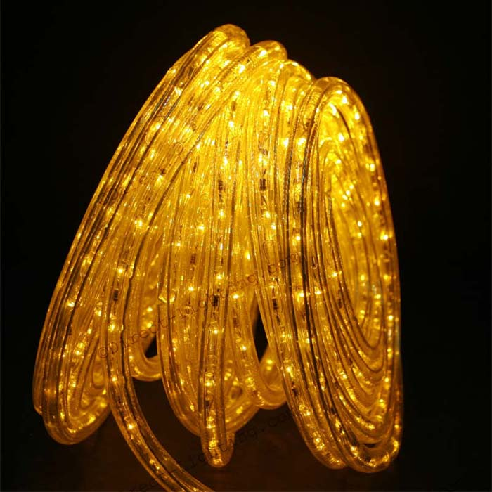 Yellow Rope Lights LED 50'