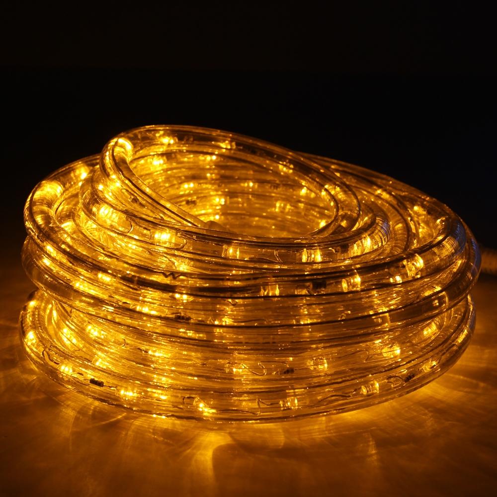 Yellow led rope lights 24ft rlwl 24 yellow direct lighting yellow rope lights led 24 mozeypictures Gallery
