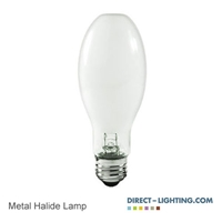 Pluse Start Metal Halide Lamp 175W 1009 Metal Halide Lamp, 175W Metal Halide Lamp, HID Lamps, ANSI M57/E, Plusrite 1009