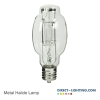 Protected Metal Halide Lamp 175W 1040 Metal Halide Lamp, 175W Metal Halide Lamp, HID Lamps, ANSI M57/O, Plusrite 1040
