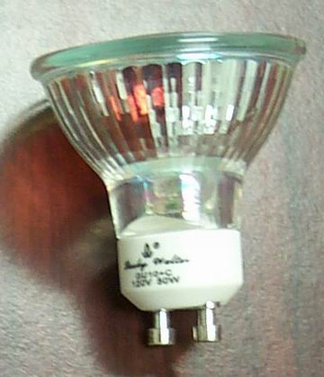 BO-77 GU10,light bulbs,Halogen,Twist and Turn base, Bulbs