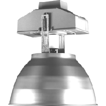 HB14400AL-B HighBay, Aluminum, 400W, Metal Halide Fixture, Commerical Lighting, Open