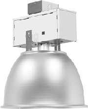 HB17400AL-LB High Bay, Aluminum, 400W, Metal Halide Fixture, Commerical Lighting, Enclosed