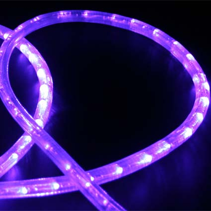 Led rope lights custom length hc106 purple direct lighting aloadofball Image collections