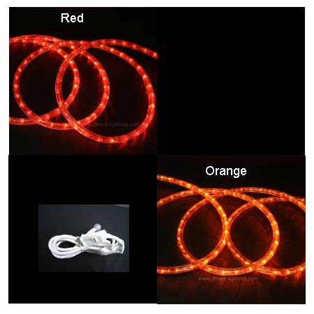Led rope lights custom length direct lighting aloadofball Image collections