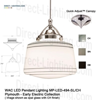 WAC LED Pendant Lighting MP-LED494-SL LED Pendant Lighting, WAC Lighting, MP-LED494-SL