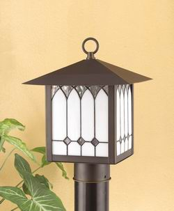 Outdoor Lighting OL-130PS-OB Outdoor post light